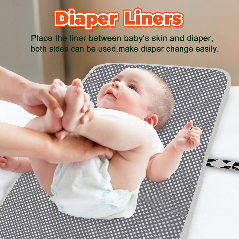 Baby Changing Mats Baby Disposable Diapers 100pcs//roll Bamboo Biodegradable Liners Biodegradable /& Flushable Nappy Liners Cloth Diaper Soft Disposable Diaper for Kid Baby Travel