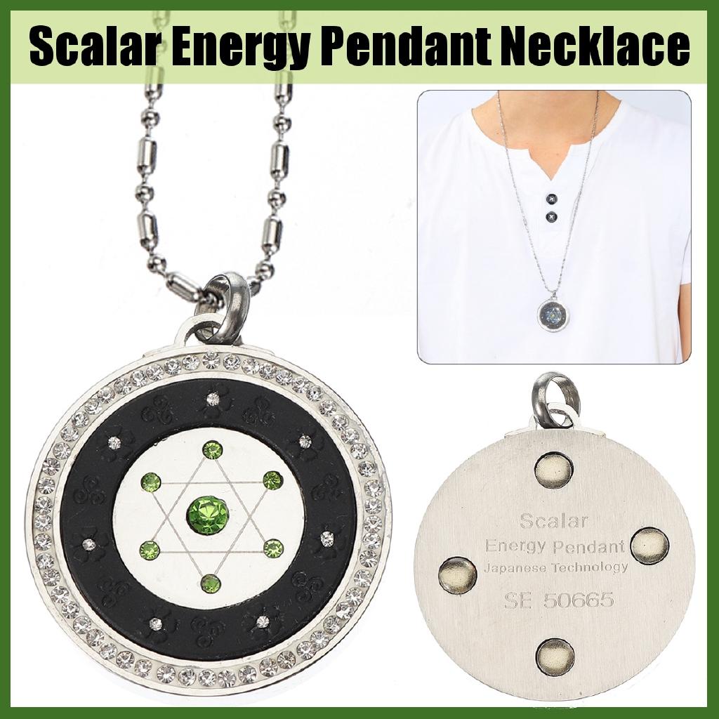 Energy Power Pendant Scalar Quantum Necklace Emf Protection Bio Science  Balance