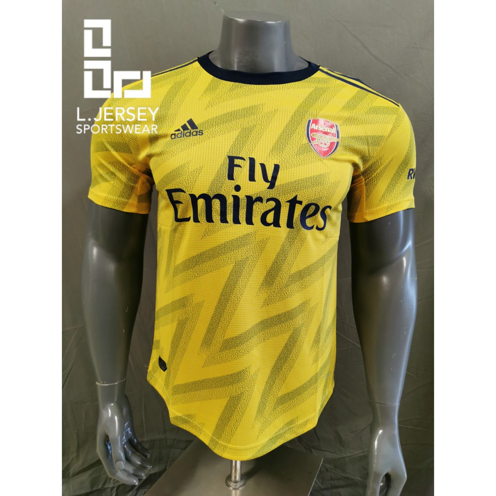 Arsenal Men Away Season 19/20 CLIMACHILL Player Jersey