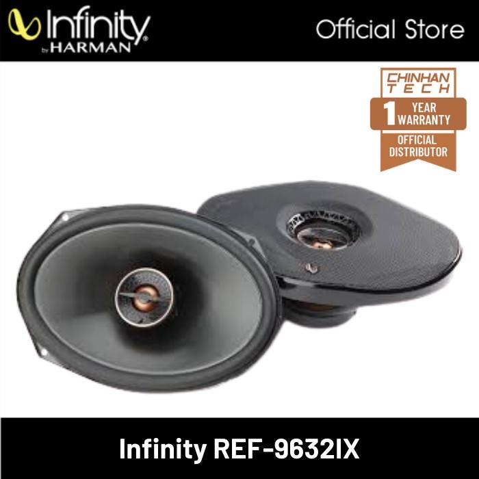 "Infinity Reference Ref-9632IX 6""x9"" 2-way Car Speakers - Pair"