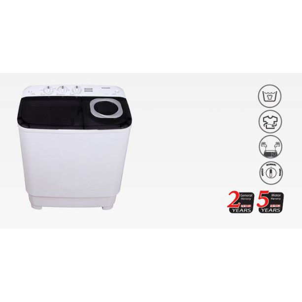 Toshiba 13kg Semi Auto Washing Machine Mesin Basuh Separuh Auto Mesin Basuh Manual VH-J140MM