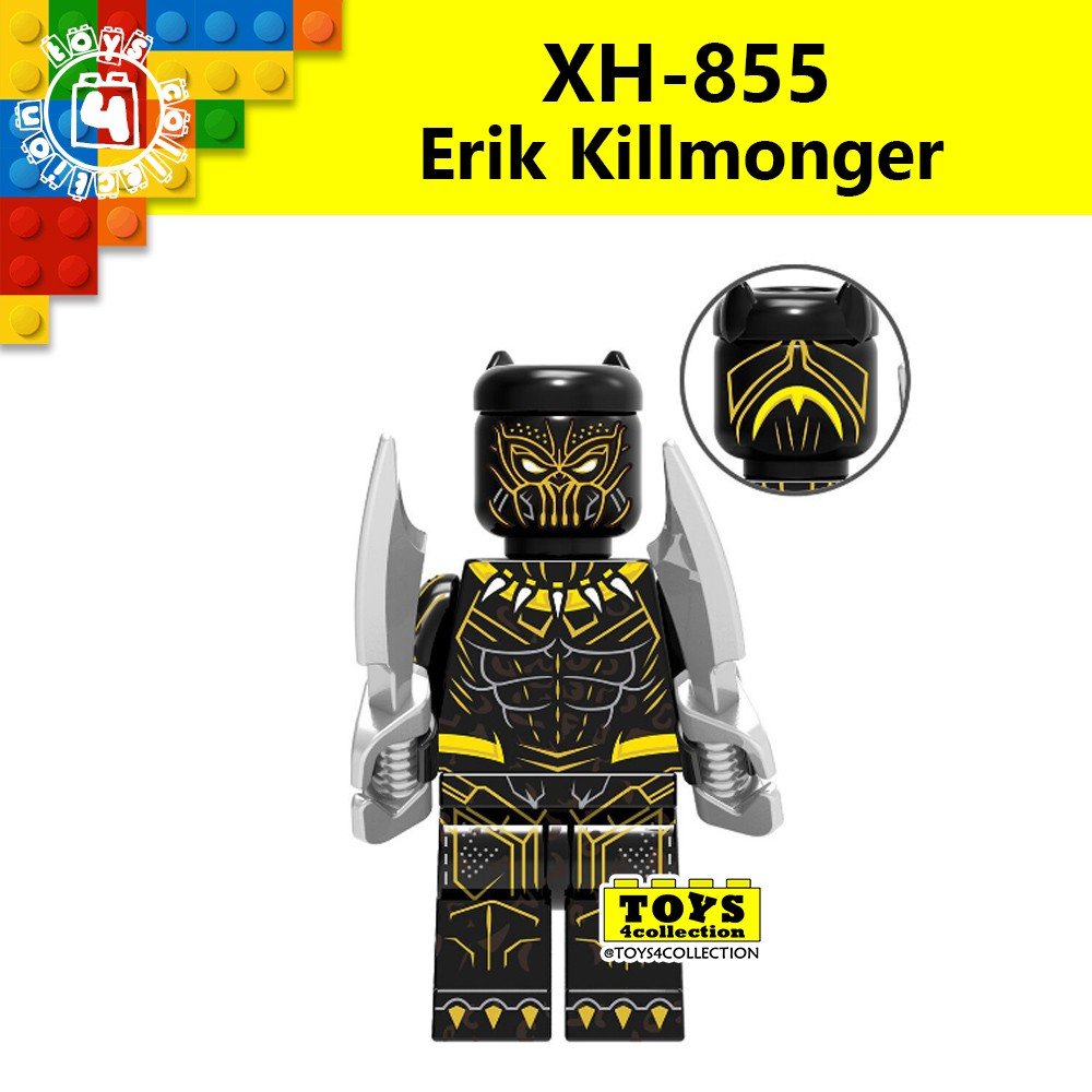 Intelligent 50pcs Marvel Avengers Infinity War Erik Killmonger Superman El Dorado Lobo Spiderman Boomer Ang Building Block For Children Toys Back To Search Resultstoys & Hobbies