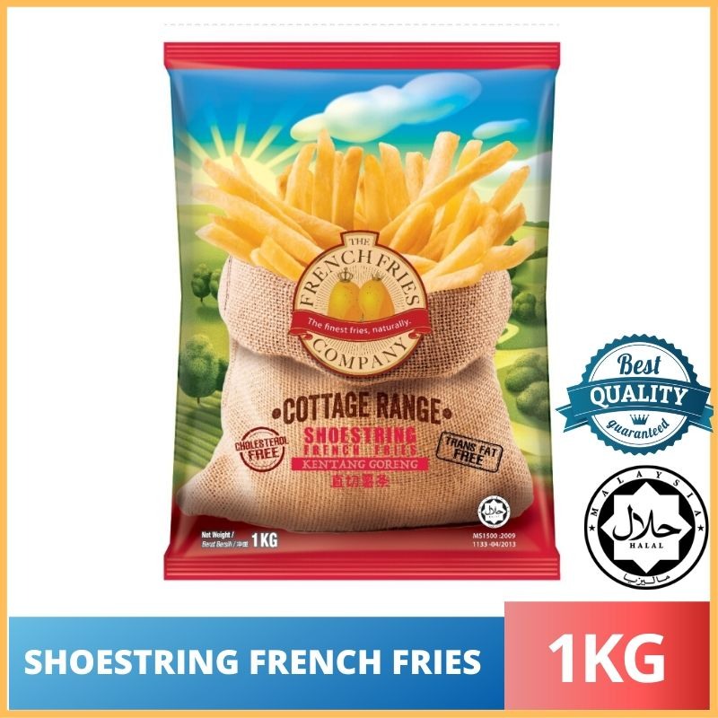 Shoestring French Fries / Kentang Goreng 1KG Must Try!!