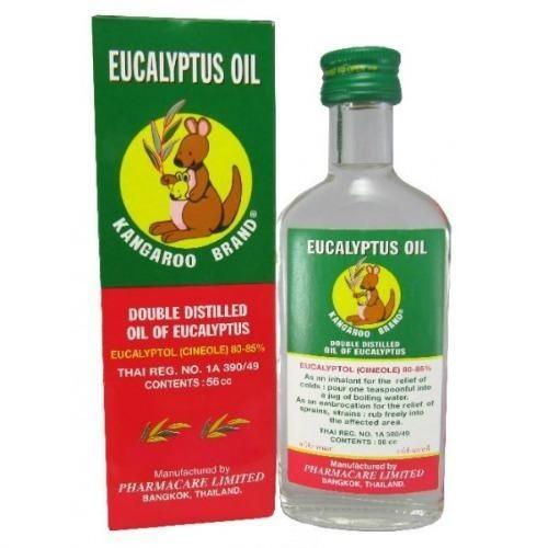 Kangaroo Brand Eucalyptus Oil 55ml