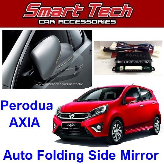 Perodua Axia Auto Folding Side Mirror System