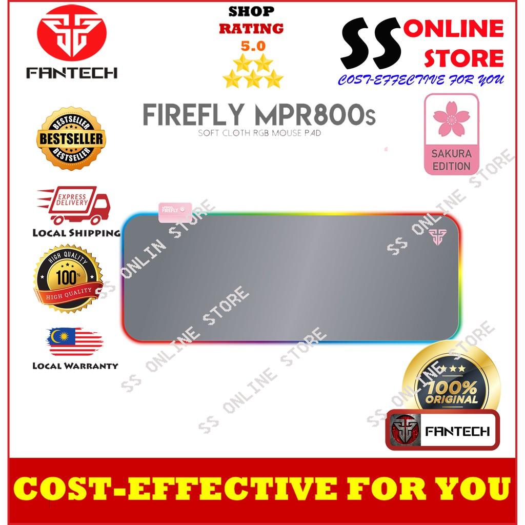 100%ORI Fantech Sakura Edition MPR800s FireFly Gaming Soft Cloth RGB MousePad (14 Spectrum Mode)