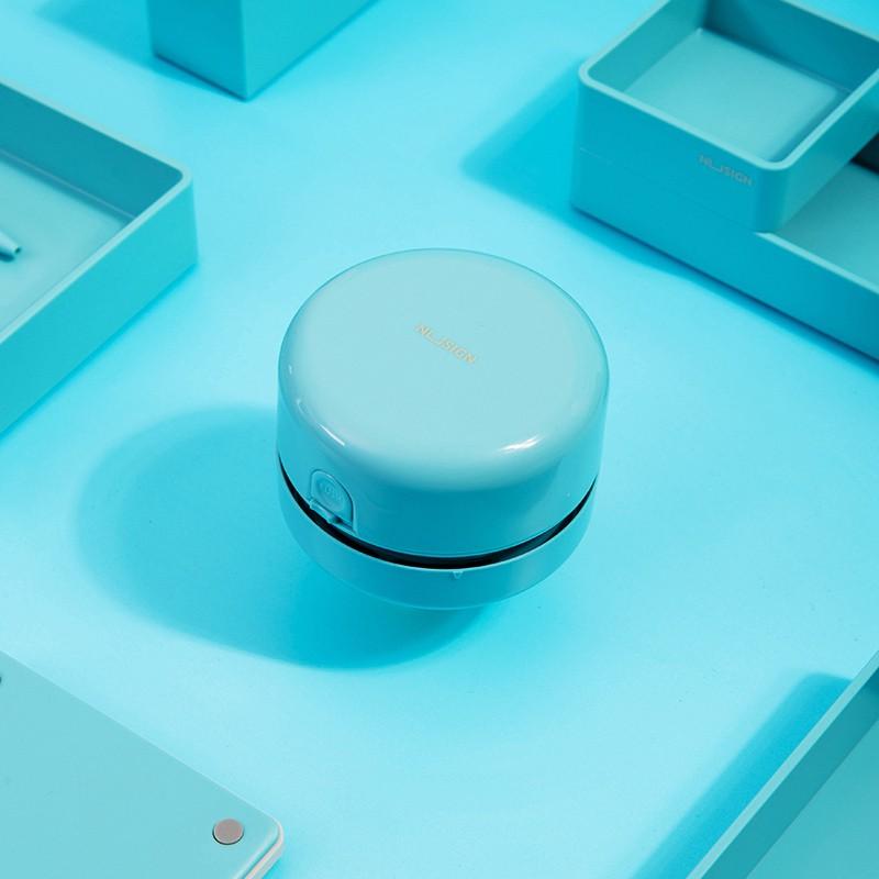 Jadi Nusign Lagoon Blue Desktop Cleaner Mini Lightweight Durable Vacuum NS198