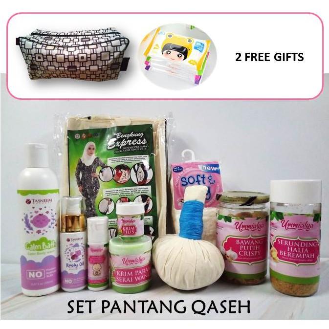 Set Pantang Qaseh by UmmiAlya l Ibu Bersalin l Mummy Postnatal Care and Supplements + Free Gifts