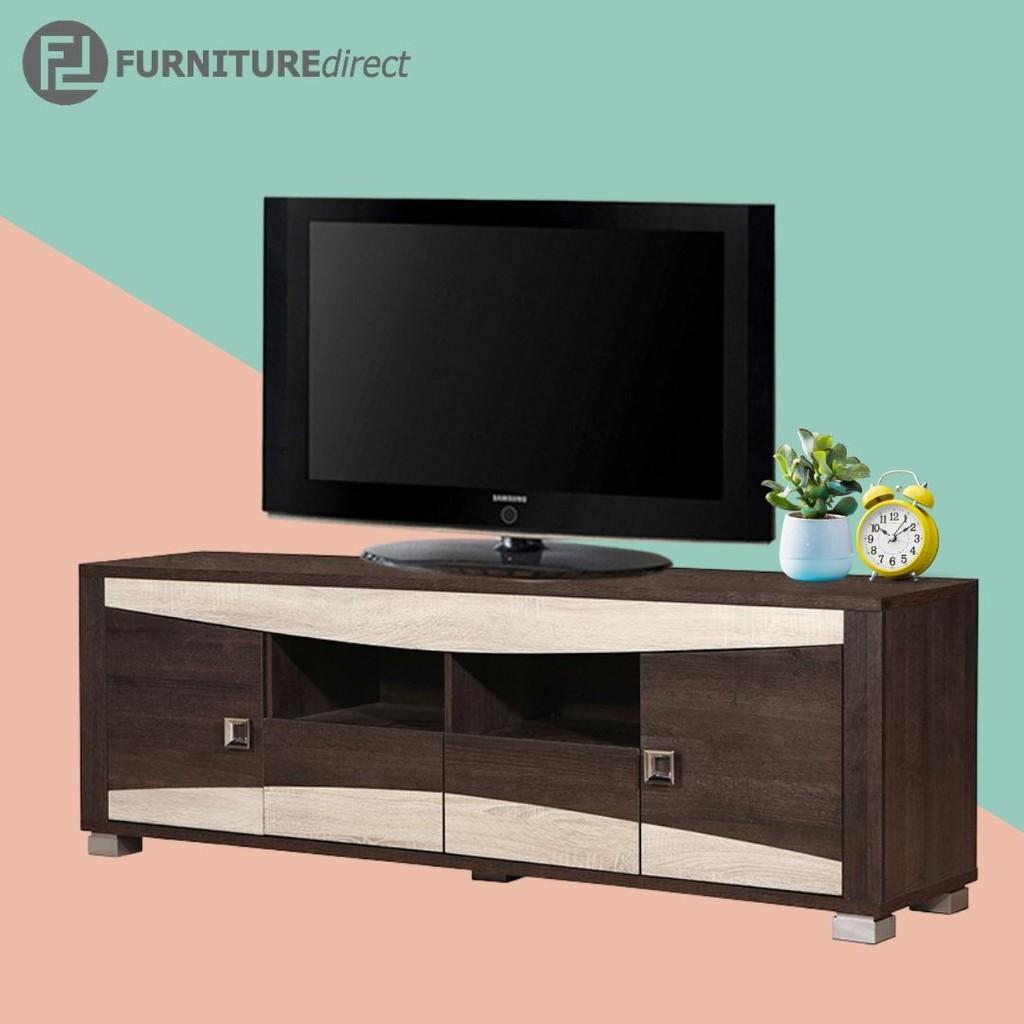 FUSION 6 Feet American Size TV cabinet/ rak tv/ kabinet tv
