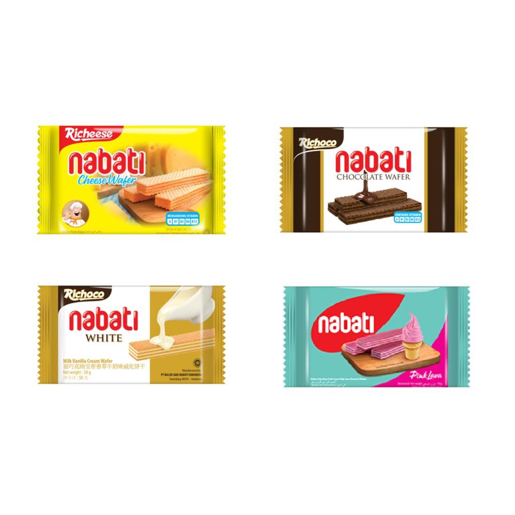 Nabati Wafer 1 Carton (6 x 10 x 50g)