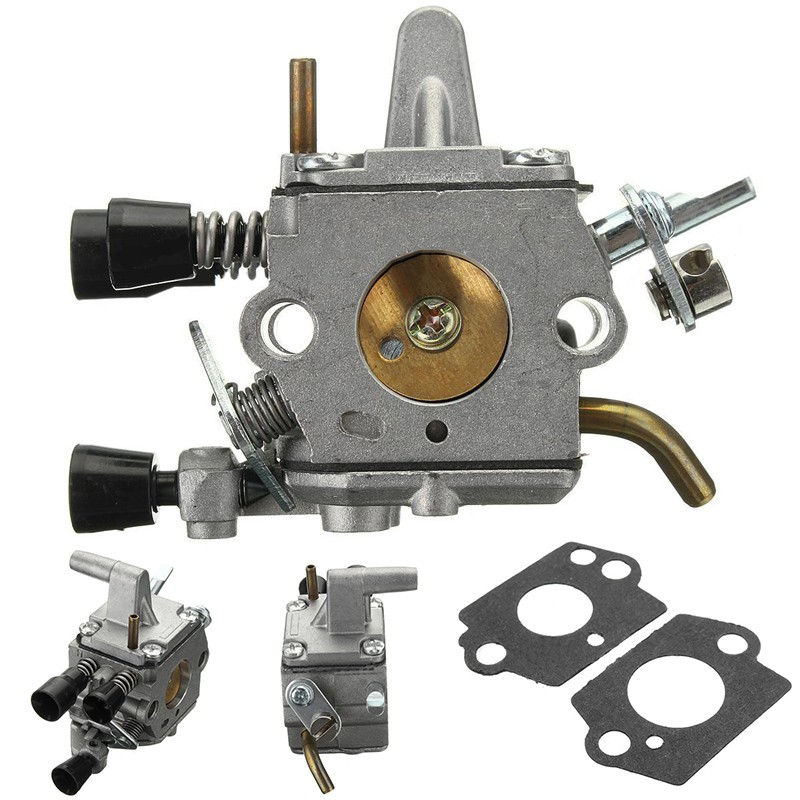FS120 FS200 FS250 FS300 Carburetor W/ Gaskets For STIHL 41341200653 Carb