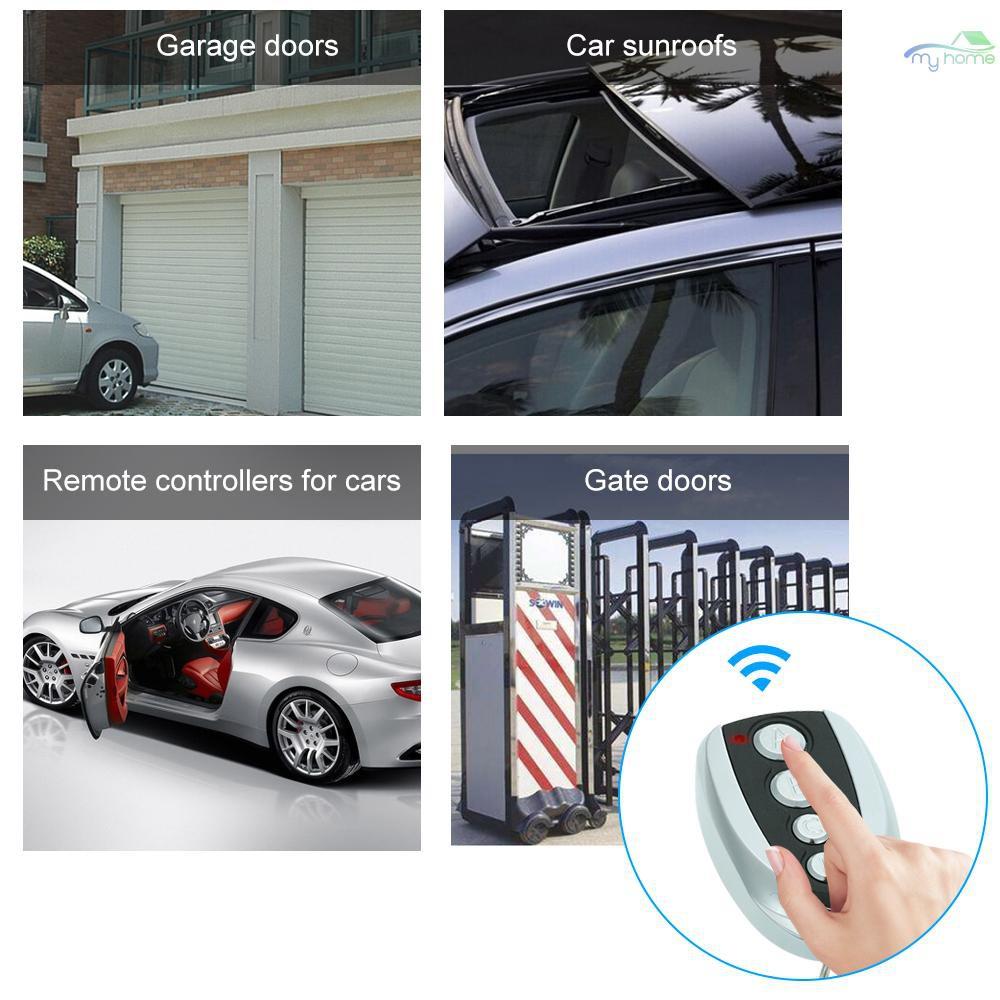 433.92mhz Clone Remote Control Key Fob Electric Gate Garage Door 5.4*3.3*1.2 Cm