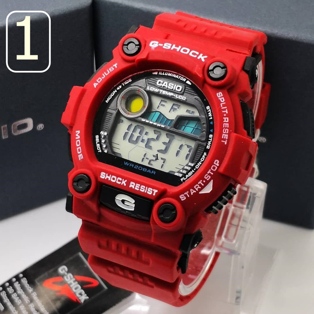 31652117649c Watch - Casio G SHOCK MAT MOTO TIDE G7900-1 - ORIGINAL