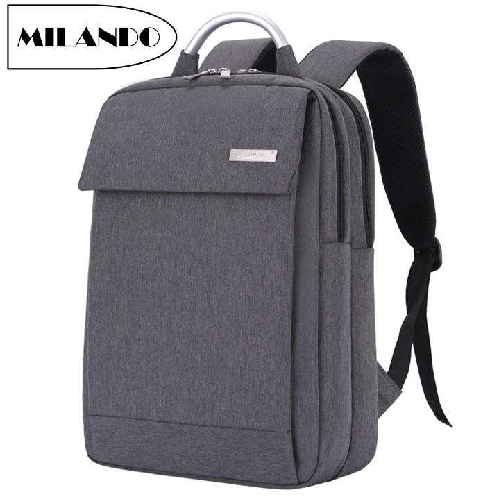 be9509ac2301 MILANDO Men Stylist Casual Laptop Backpack Travel School Duffel Drawstring  Bag