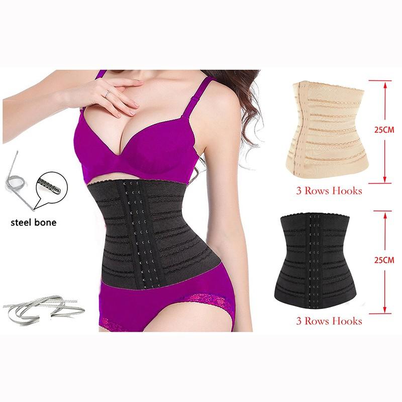 aada6836f Men Women Shapewear Hot Sweat Belt Waist Trainer Body Shaper Corset Slim