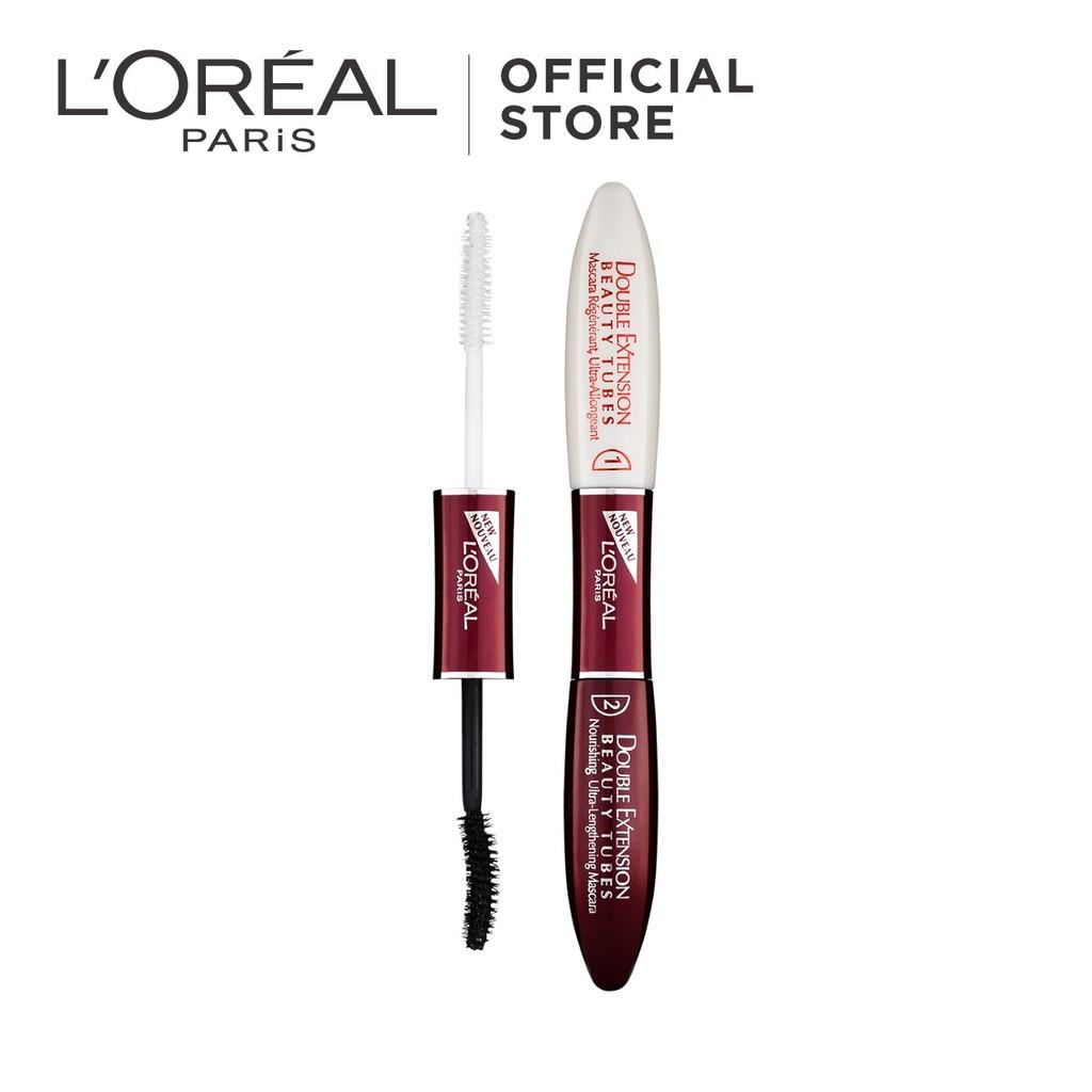 24355c4b32b L'Oreal Paris Double Extension Beauty Tubes Mascara   Shopee Malaysia