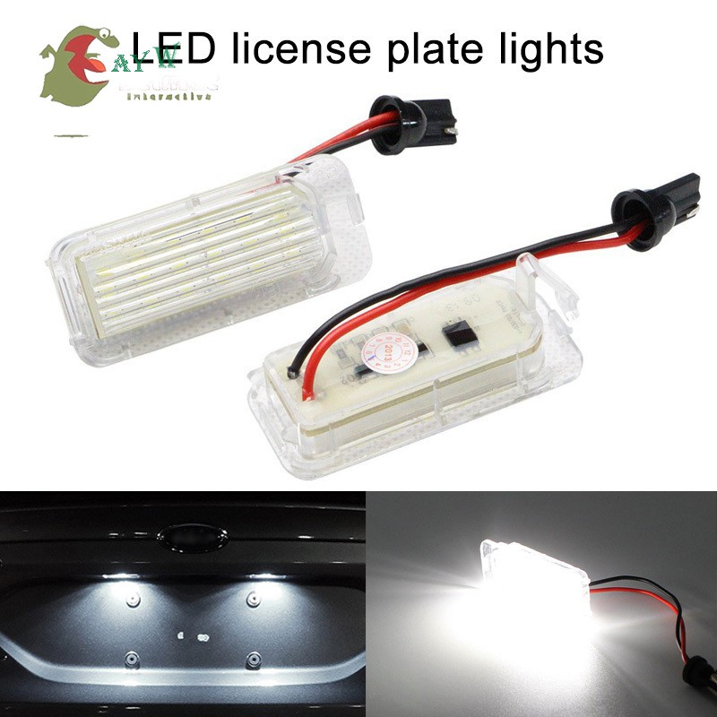 2x 24 LED White License Number Plate Light Canbus For VW Passat Golf GTI MK5 MK6 | Shopee Malaysia