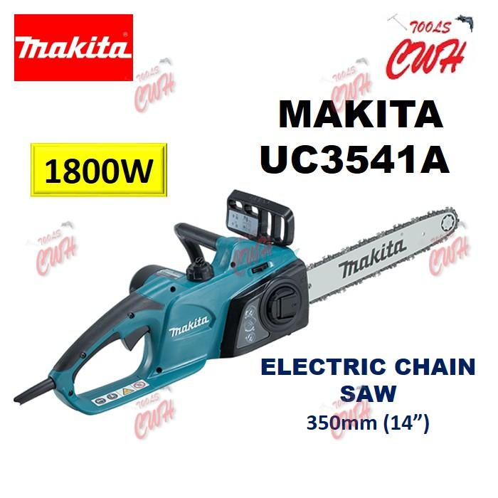 "MAKITA UC3541A 350MM 14"" 1800W ELECTRIC CHAINSAW CHAIN SAW CUTTING TREE BRANCH"