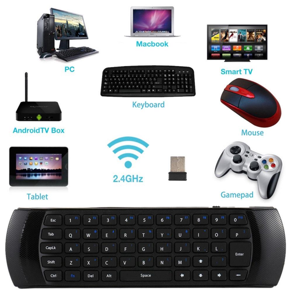 X6 Mini 2 4G Fly Air Mouse Wireless Keyboard Remote Control For