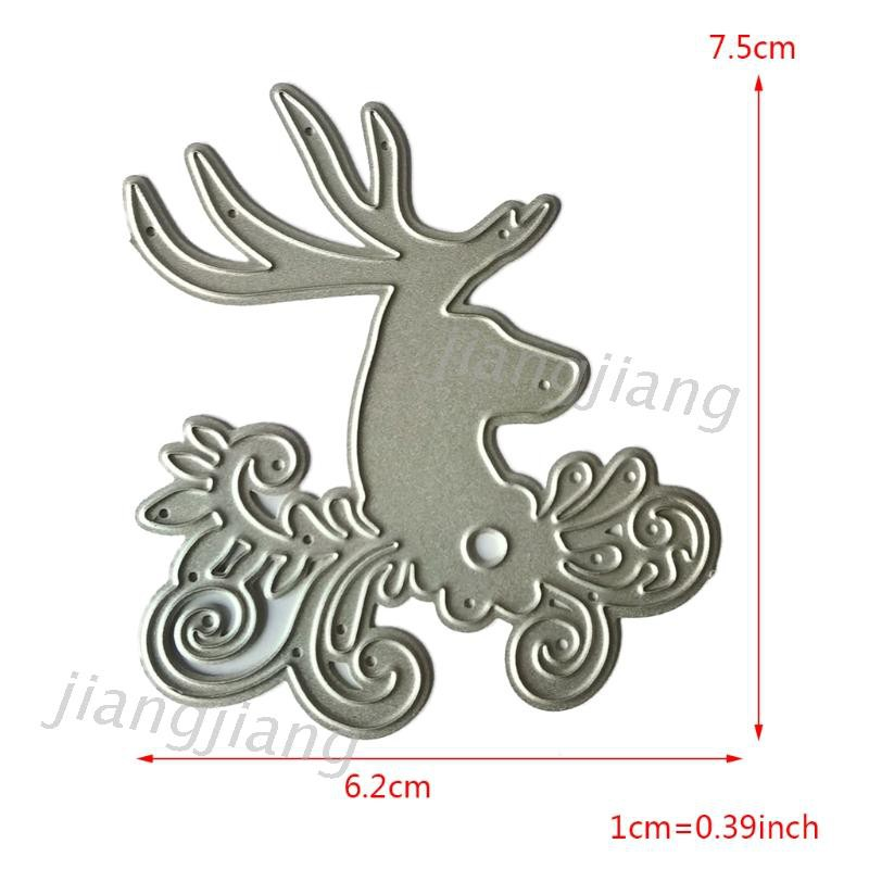 Elk Metal Cutting Dies Stencil Scrapbooking DIY Album Stamp Paper Card Embossing