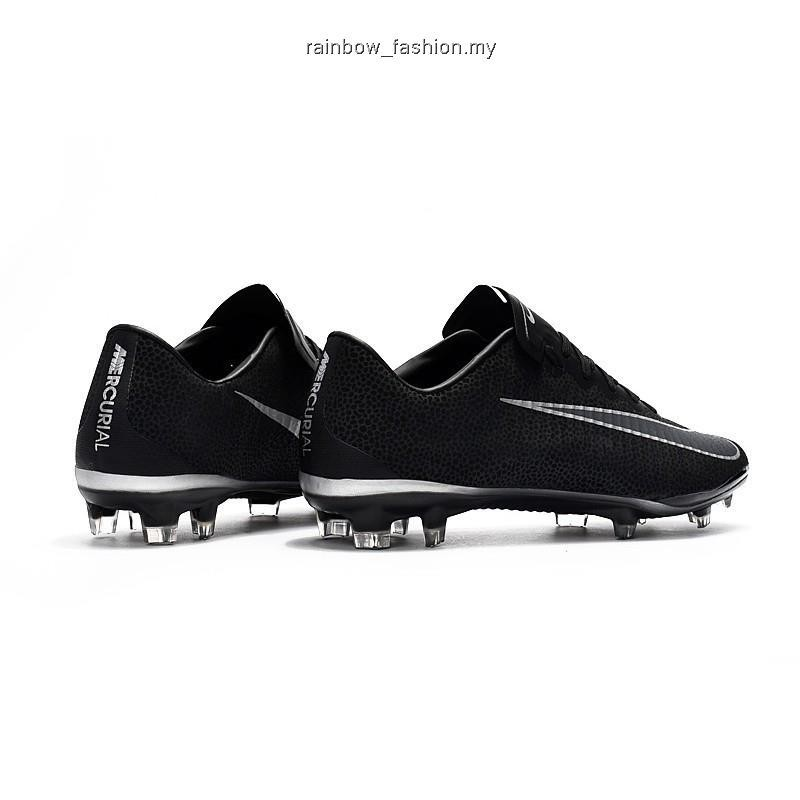 outlet for sale special for shoe low price Ready Stock Nike Mercurial Vapor XI FG black out low leather
