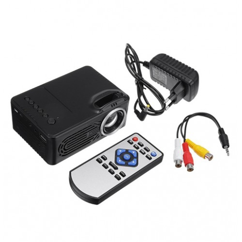 RD-814 Home Mini Portable Led Projector - 30 Lumens