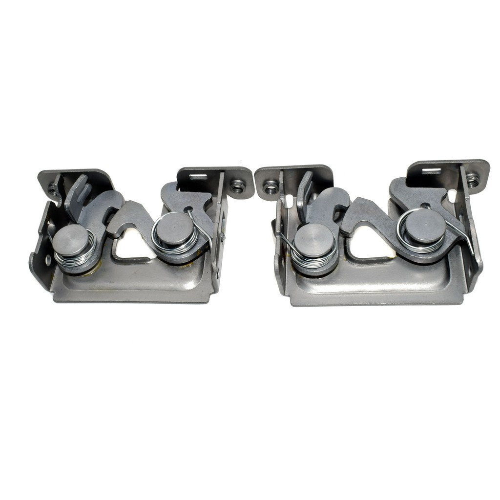 2 PCS Lower Hood Lock Latches for BMW 128i 328i 335i xDrive 525i 51237115229 New