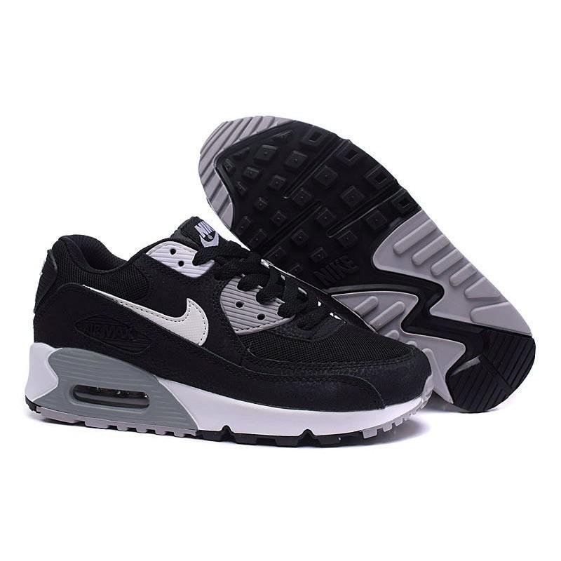 Nike Air Max 90 Mens White Grey Black