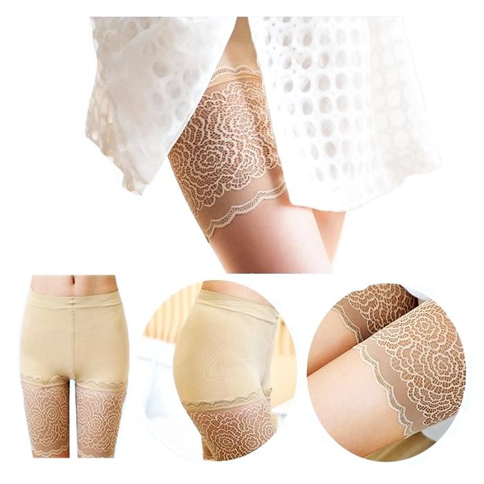 READY STOCK- SELUAR DALAM LACE + COTTON SLIM PEHA Safety Slimming Panties