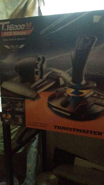Thrustmaster T 16000M FCS HOTAS Controller | Shopee Malaysia