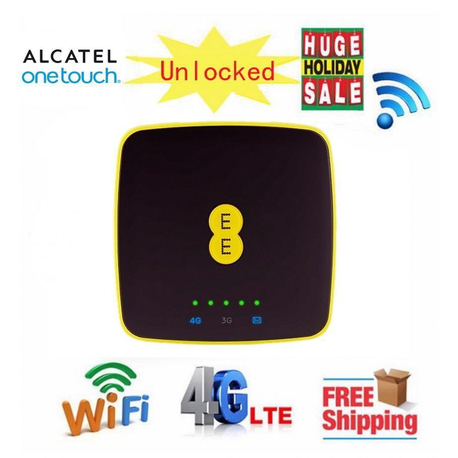 Alcatel EE40 (1500mAH) 4G LTE Mifi Hotspot World Smallest