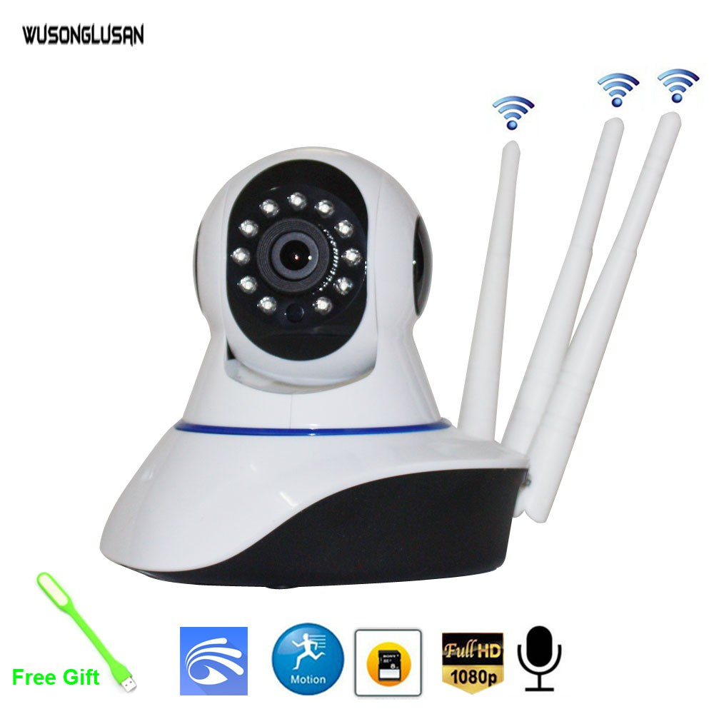 Yoosee Wifi IP Camera PTZ Dome Camera Wireless 1080P 720P ONVIF Two Way  Audio P2P SD card Slot CCTV Home Surveillance
