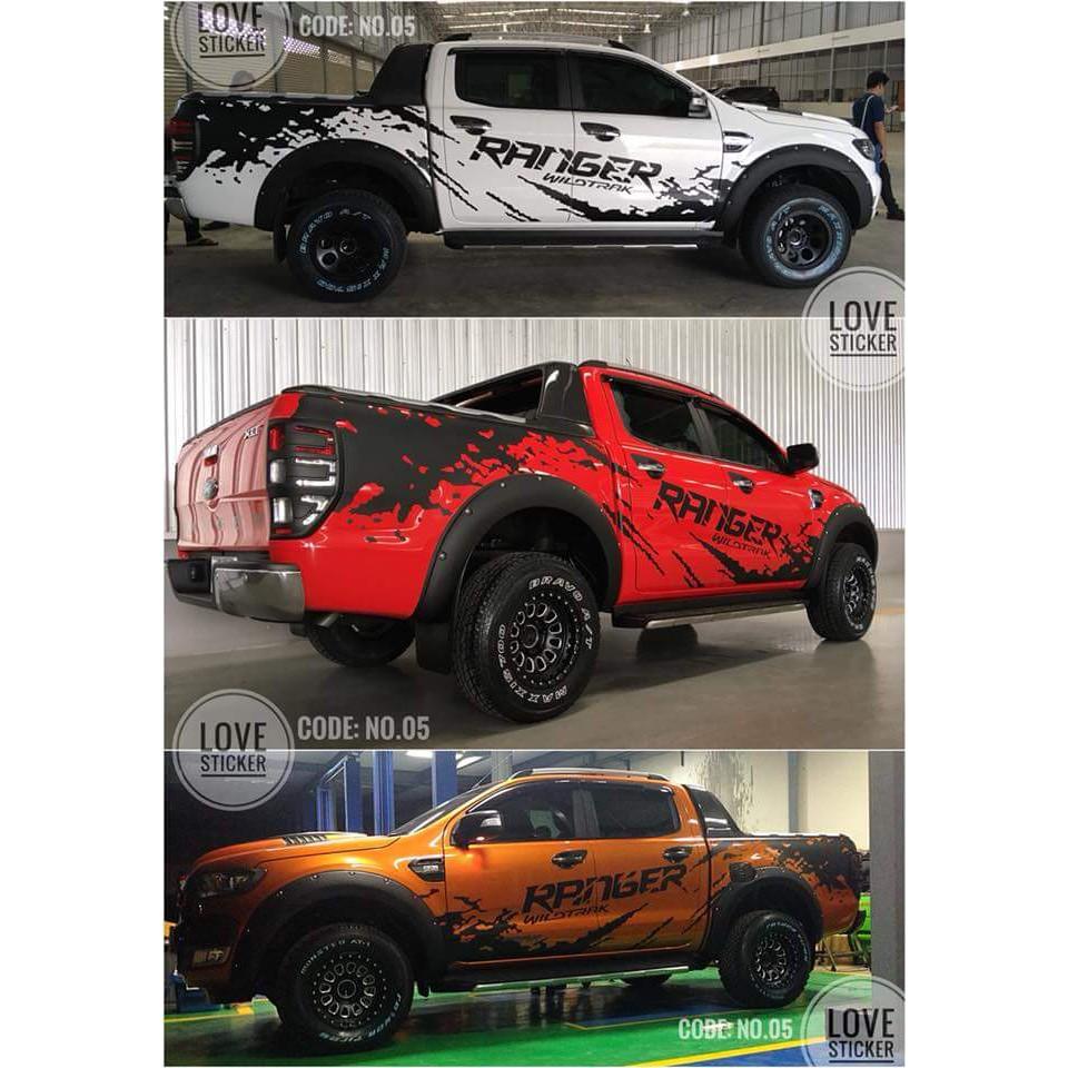 Ford Ranger Body Sticker