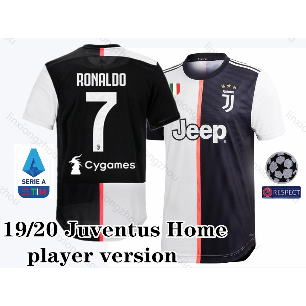 best service d2031 b6f70 Top Quality 19/20 Juventus Home Player Issue Jersey Football Jersey