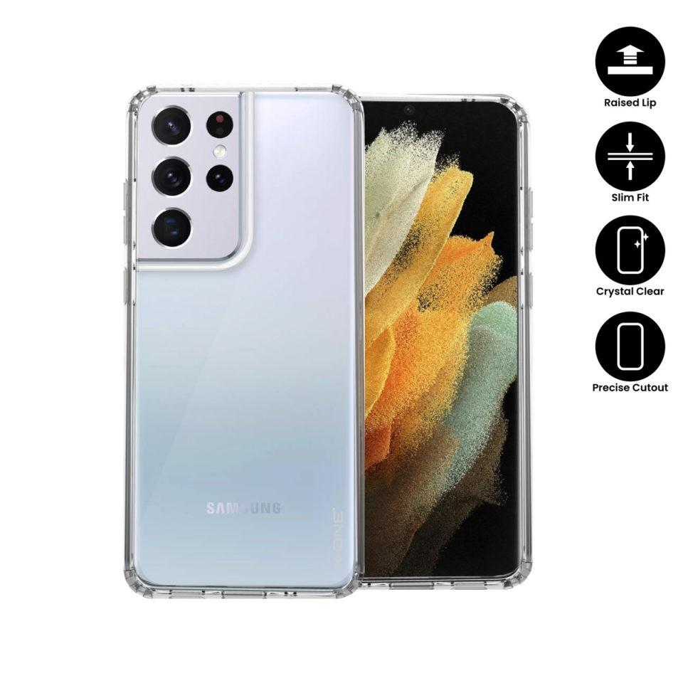 X.One Galaxy S21,S21 Plus, S21 Ultra Liquid Defender Dropguard Lite Xone Case Cover