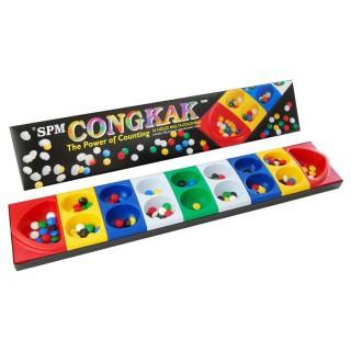 Congkak SPM 107 16 Holes Multi-Coloured (Toy, Game, Boardgames) SPM107