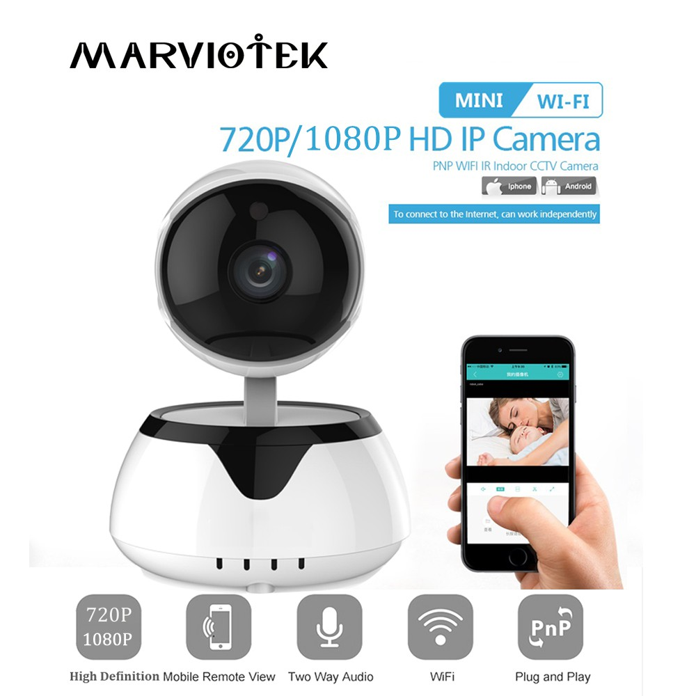 IP Camera WiFi 720P 1080P Smart Home Security IR Video Surveillance CCTV  Camera