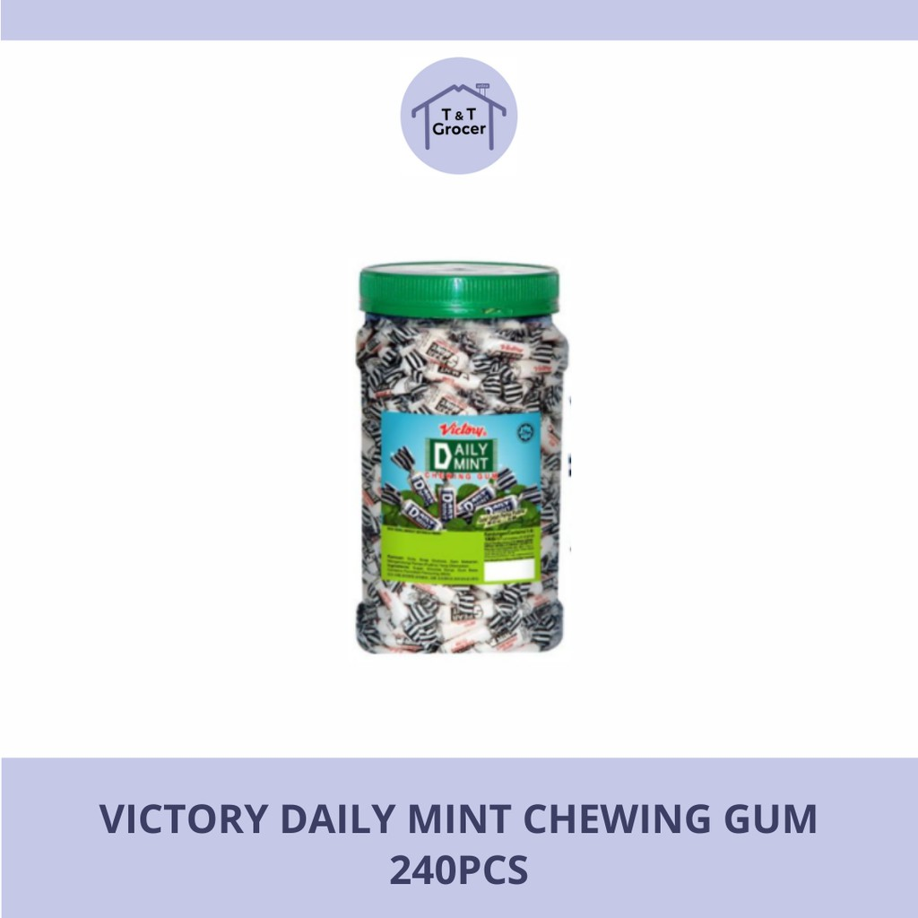 Victory Daily Mint Chewing Gum 240pcs