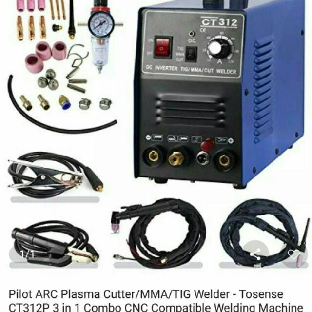 Plasma Cutter Tig Mma Welder Inverter Cutter Stick 3in1 Welding Machine Ct312 Shopee Malaysia