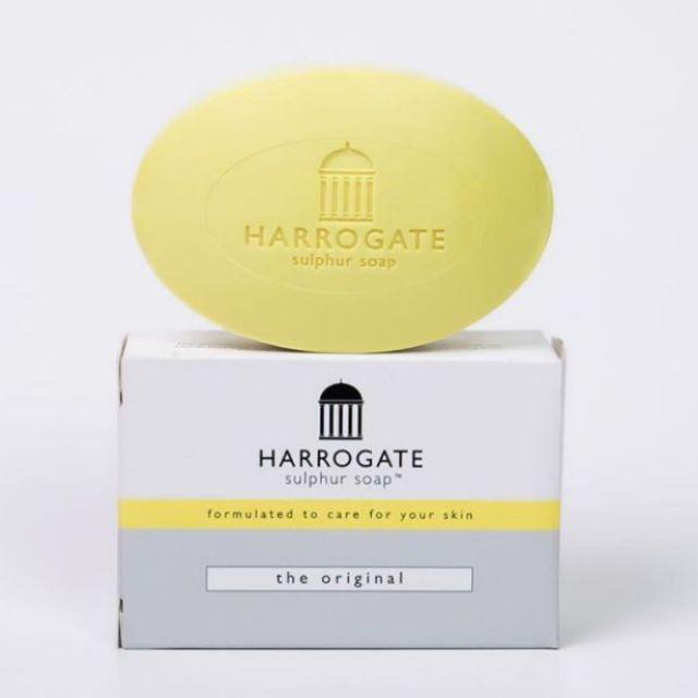 [💯AUTHENTIC] HARROGATE SULPHUR SOAP BAR | The Original (100g)