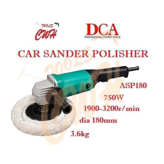 DCA ASP180 750W 180MM 3.6KG CAR POLISHER WAXER POLISHING WAXING