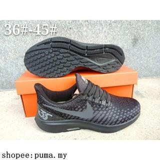 quality design f35d0 b32ec Nike Air Zoom Pegasus 35 All Black Unisex Sport Shoes ...