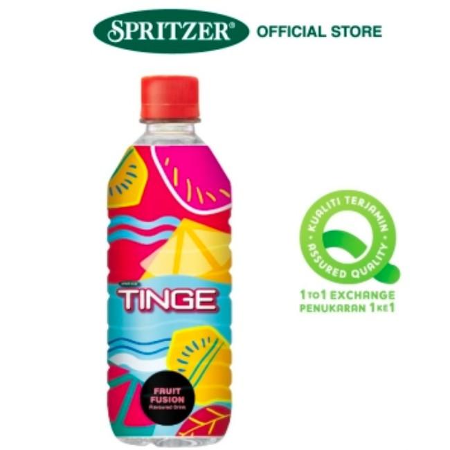 "SPRITZER - TINGE ""Fruit Fusion"" (500ml x 12) Flavoured Drink   ***Fresh Stocks***"