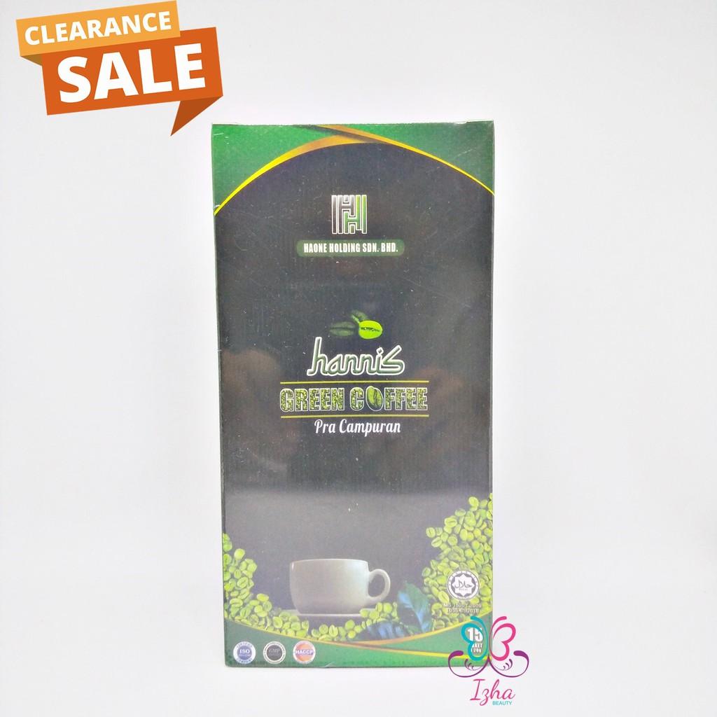 [HANNIS] Green Coffee Pra Campuran - 15 sachet x 20g