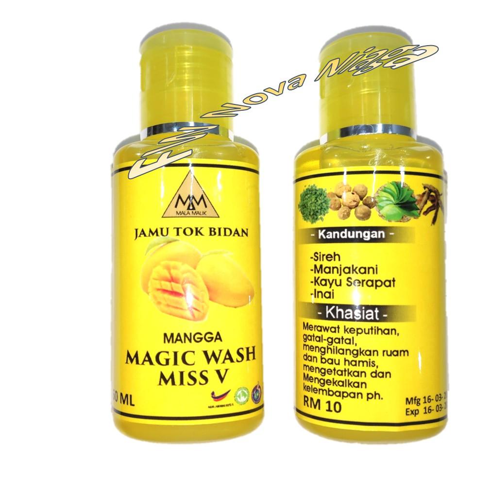 Feminine wash 60ml haruman mango, lychee n cherry
