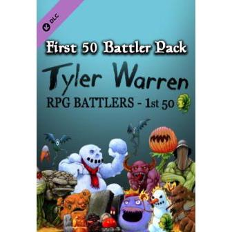 RPG Maker: Tyler Warren First 50 Battler Pack Key Steam GLOBAL