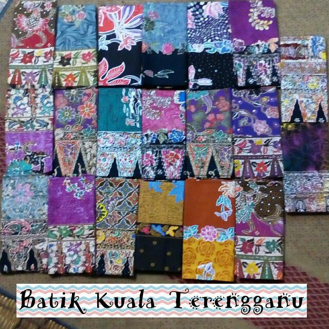 Batik Asli Terengganu Kain Batik Sarung Batik cotton + serap air No 1 PREMIUM QUALITY COP TERENGGANU ASLI