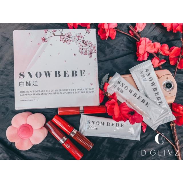 Snowbebe 白娃娃 🍑 内服美白圣品 【良心卖家 绝对正品】