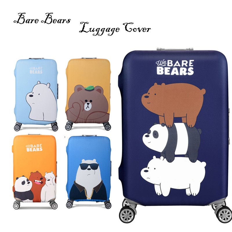 d2d8d798aa93 Elastic Luggage Protective Cover For 19-32 inch Suitcase Dust free Bag Case