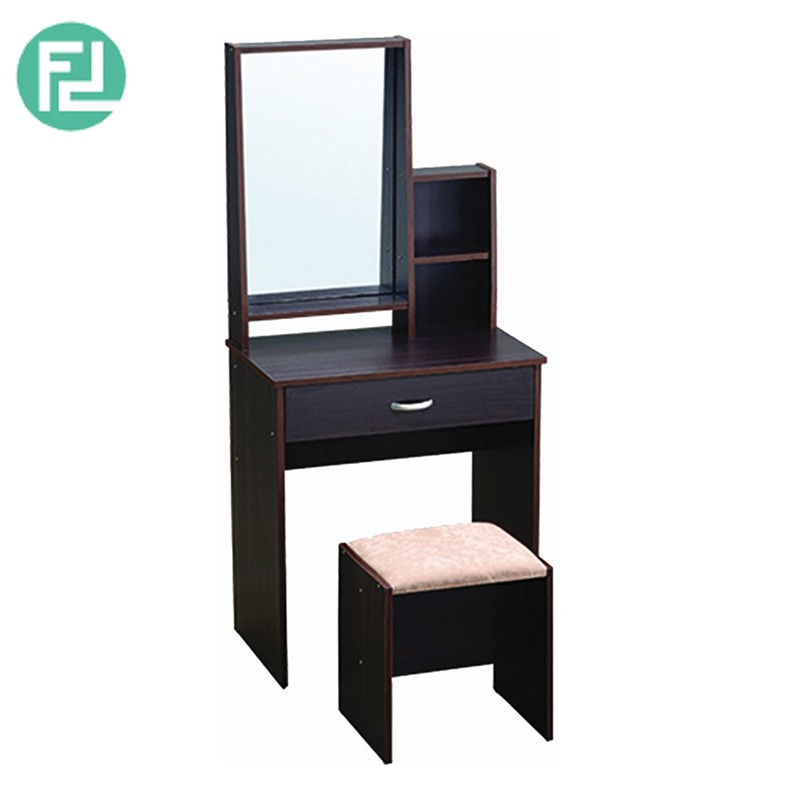 Furniture Direct GORDON DRESSING TABLE WITH STOOL- CAPUCCINO